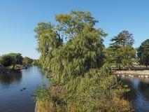River Avon in Stratford upon Avon Stock Photo