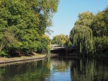 River Avon in Stratford upon Avon Stock Images