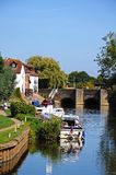 River Avon, Tewkesbury. Royalty Free Stock Images