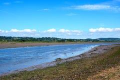 River Axe, Axmouth. Stock Photography