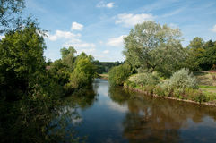 The river at bakewell Royalty Free Stock Images
