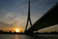 River in Bangkok Royalty Free Stock Images