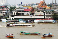River in Bangkok Stock Photography