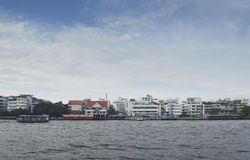 River In Bangkok Royalty Free Stock Photography