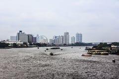 The river of Bangkok Stock Photos