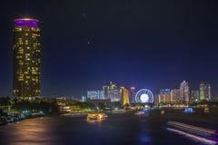 River in Bangkok city Stock Photo