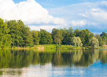 River bank Royalty Free Stock Photography