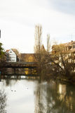 River bank of Pegnitz Royalty Free Stock Images