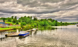 The river Bann in Coleraine Royalty Free Stock Image