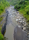 River in Banos de Agua Santa. Ecuador Stock Photography