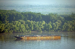 River barge Royalty Free Stock Images