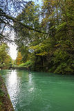 River in the Bavarian Alps, Germany Stock Images
