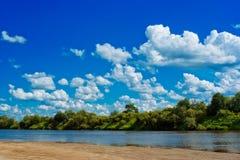River beach Stock Photography