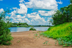 River beach Stock Images