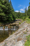 The river Bear Creek in the national park Krkonose in the Czech Republic Royalty Free Stock Photos