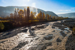 River bed Royalty Free Stock Images
