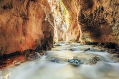 River bed Rio Chillar River In Nerja, Malaga Stock Images