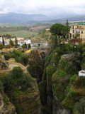 The river bed. Ronda Royalty Free Stock Photography