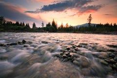 River Bela in Slovakia. Stock Image
