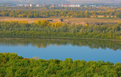 River Belaya Royalty Free Stock Images