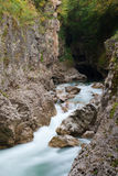 River Belaya is  in  canyon, Russia Royalty Free Stock Photos