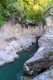 River Belaya is  in  canyon, Russia Stock Photography