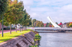 River of Belgium Royalty Free Stock Images