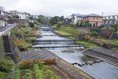 River in Beppu - Japan Royalty Free Stock Photography