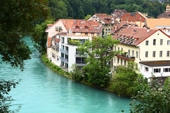 River in Bern Royalty Free Stock Photos