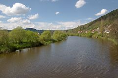 River Berounka, Czech republic Royalty Free Stock Image