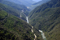 River, Bhutan Stock Image