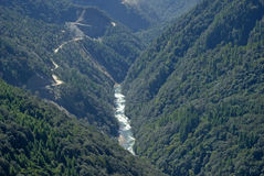 River, Bhutan Stock Image