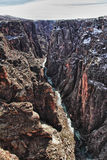 River in Black Canyon of the Gunnison Park, CO Stock Image