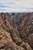 River in Black Canyon of the Gunnison Park, CO Stock Images