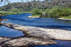 River Blackwater in Lismore Royalty Free Stock Image