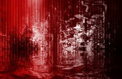 River of Blood. Flowing Abstract Background Art Royalty Free Stock Photos