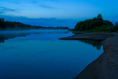 Night river Royalty Free Stock Photography