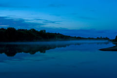Night river Stock Photography