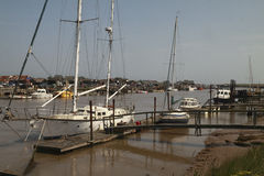River Blyth Moorings Stock Photography