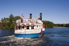 River Boat Royalty Free Stock Image