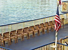 River Boat Deck Stock Images