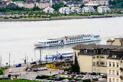 Rhine River in Germany Royalty Free Stock Image