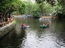 River Boat Touring Escapade, Manila Zoo, Manila, Philippines. Boat Tourist Attraction, Manila Zoo, Manila, Philippines Stock Photography