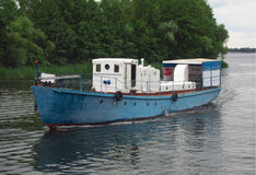River boat types from Yaroslavl on the Voronezh Reservoir Stock Image