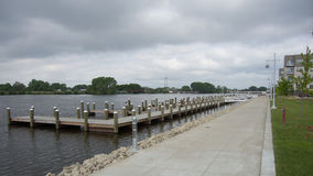 River Boating Dock Stock Photography