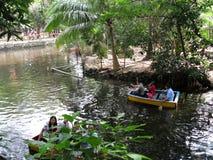River Boating, Manila Zoo, Manila, Philippines. River Boating Escapade, Manila Zoo, Manila, Philippines Stock Photo