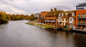 River boating stock image