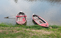 River boats on arno Stock Photos