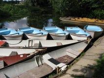 River Boats Stock Photos