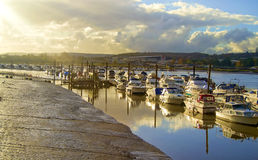 River and boats Royalty Free Stock Photography